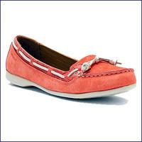 Sebago B668002 Women's Felucca Lace Coral Deck Shoe