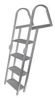 JIF Marine 4-Step Folding Angled Dock Ladder ERR4