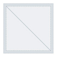 "Tri Vantage 030 Eisenglass Clear Color Dbl clr 54""W x 1'"