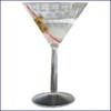 10 oz. martini glasses, 2 pack
