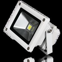 Lunasea Outdoor LED Flood Light White 900 Lumens LLB-355C-01-10