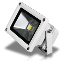 Lunasea Outdoor LED Flood Light White 900 Lumens LLB-355C-01-10