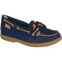 Sperry Coil Ivy Boat Shoe - Navy