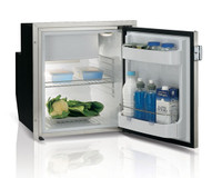 Vitrifrigo 2.2 Cu. Ft.  AC/DC Refrigerator with Stainless Steel Flush Flange C62IXD4-F