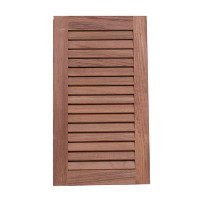 "Whitecap Solid Teak Louvered Insert 9-1/8"" W  x  16"" H  60710"