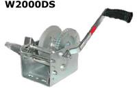 JIF marine Winch W/Strap W600D W1000D W1600D W2000DS
