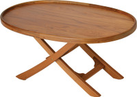 Garelick Teak Folding Deck Table 50600-01