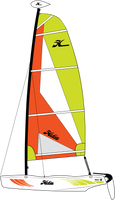 Hobie Wave Club Sailboat  HWCL17