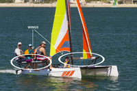 Hobie Cat Getaway Wing Set