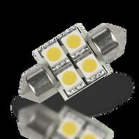 Lunasea Pointed Festoon 4 LED Light Bulb - 31mm   LLB-202C-21-00