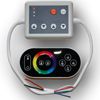 Lunasea Indoor IP20 RGB Strip Light Controller with Remote  LLB-45AR-08-01
