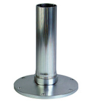 Garelick Fixed Overall Height Pedestal - Ribbed  75530-01