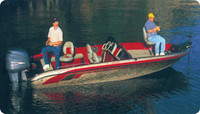 "Taylor Made Tournament Style Bass Boat Cover 18'5"" - 19'4"" x 94""W (Pacific Blue) 88039OB"