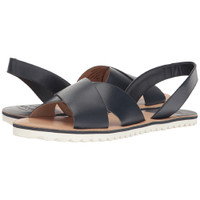 Sebago Women's Sidney Slingback Sandal (Black Leather)  B447097