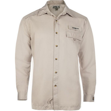 Hook & Tackle® Men's Bug/X Long Sleeve Fishing Shirt  M01036L-050