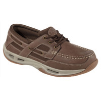 Rugged Shark Men's Monroe Boat Shoes (Brown) RS-MONROE