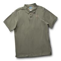 Rugged Shark® Men's Sand Tiger Shark Polo Shirt (Sage)  5101011