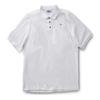 Rugged Shark® Men's Sand Tiger Shark Polo Shirt (White)  5101011