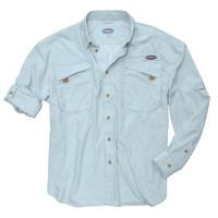 Rugged Shark® Men's Bull Shark Shirt (Skyblue, Long Sleeve) 5101005