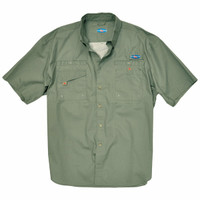 Rugged Shark® Men's Great White Shirt (Sage) 5101003