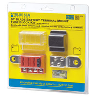 Blue Sea Systems ST Blade Battery Terminal Mount Fuse Block Kit  5024