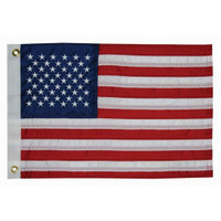"Taylor Made 12"" x 18"" Deluxe Sewn 50-Star U.S. Flag  8418"