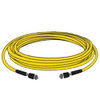 Marinco TV Cable Cordset 12' White  TV99W-12 Note: Yellow shown, but this cordset is WHITE.