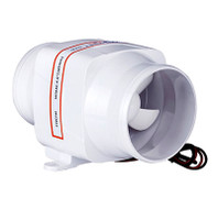 """SeaFlo 4"""" In-Line Bilge Blower Fan  SFIB1-270-02"""