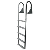 JIF Marine Hinged Dock Ladder DJW4-W DJW5-W
