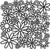 Stencil Daisy Cluster 6 x 6