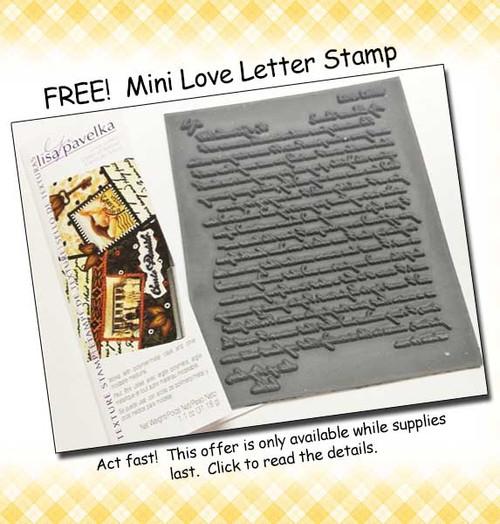 Free Mini Love Letter Stamp