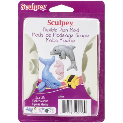 Sculpey Mold Sea Life