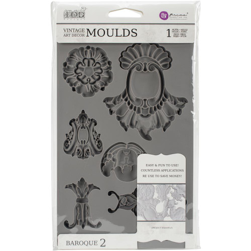 Iron Orchid Designs Vintage Art Decor Mould Baroque #2