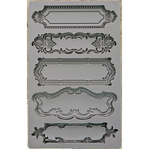Iron Orchid Designs Vintage Art Decor Mould Object Labels #1