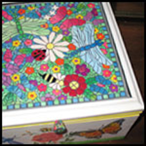Abby's Mosaic Garden Box