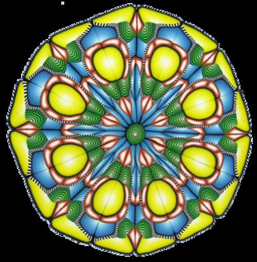 Yonat's Polymer Clay Mandala