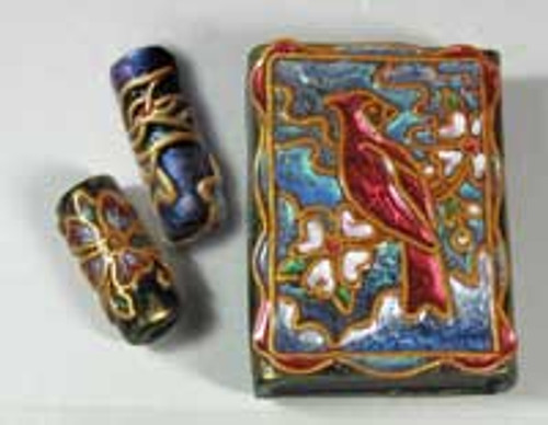 Penni Jo Originals Cloisonne Bead and Matchbox Tutorials
