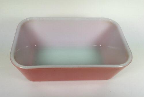 Pyrex Refrigerator Dish Gooseberry Pink 502