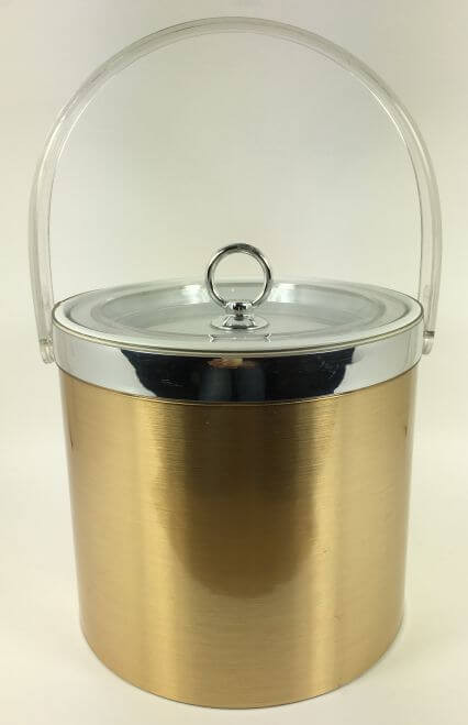 Vintage George Briard Ice Bucket Gold