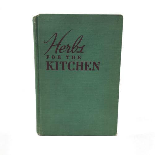 Vintage Cookbook Herbs for the Kitchen Mazza 1950