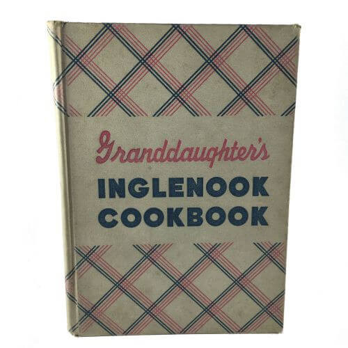 Vintage Cookbook Granddaughters Inglenook 1942