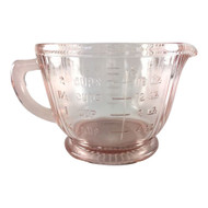 Vintage Pink Depression Glass 2 cup measuring cup Queen Mary or Old Colony Pattern