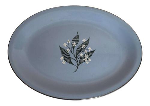 Vintage Homer Laughlin Skytone Stardust Platter 11x9