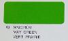(21-049-002) PROFILM TRANSPARENT GREEN 2MTR