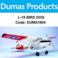 DUMAS 1804 40 INCH L-19 BIRD DOG R/C ELECTRIC POWERED