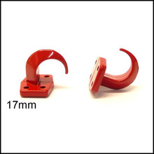 Bolt On Hooks Medium (RED)