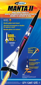 001425 ESTES  Manta™ II Launch Set