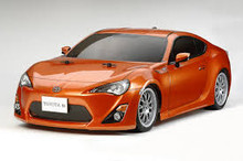 Body Toyota 86 190mm 1/10( Body comes clear)