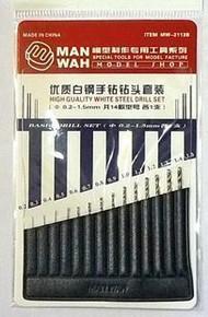MW-2113B Drill Bits (14pcs)