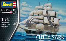 REVELL Cutty Sark  Scale: 1:96